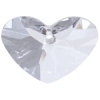 Swarovski Pendant 6260 Crazy 4 U Heart 37mm Crystal